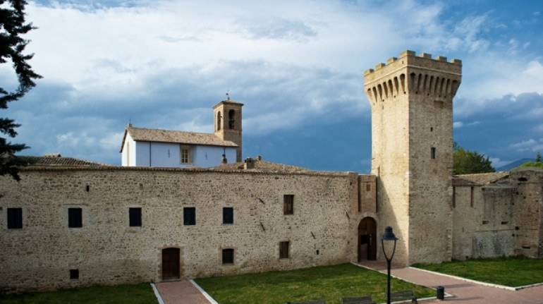 Sleeping in a castle in Umbria