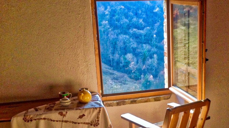 Off grid holiday in Umbria