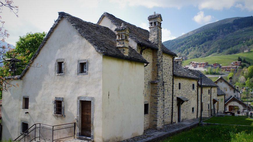 Arnosto Village in Imagna Valley