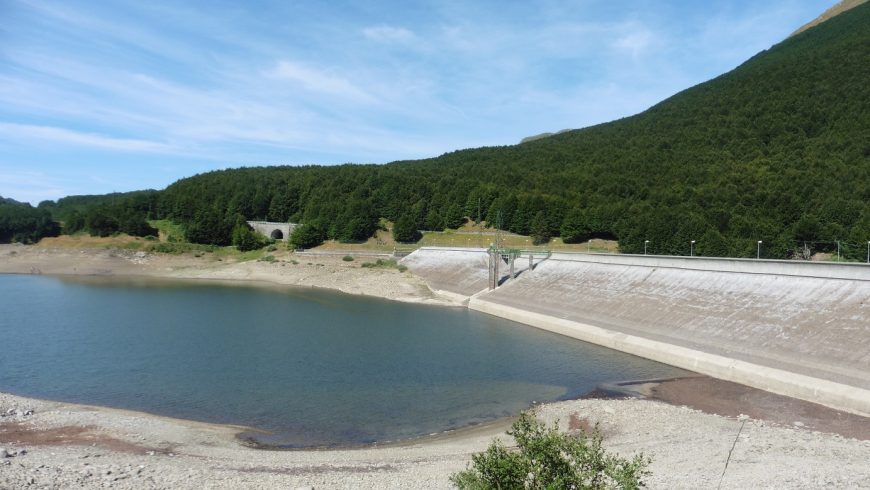 River Enza' drainage basin