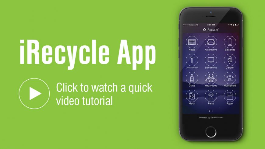 iRecycle - eco-friendly apps