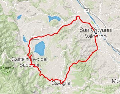 Via della Lignite, itinerary via Strava