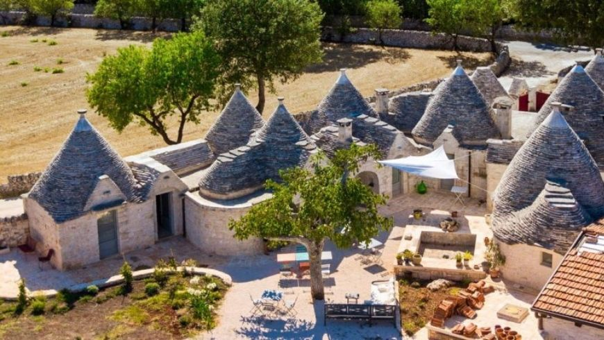 trulli in southern italy