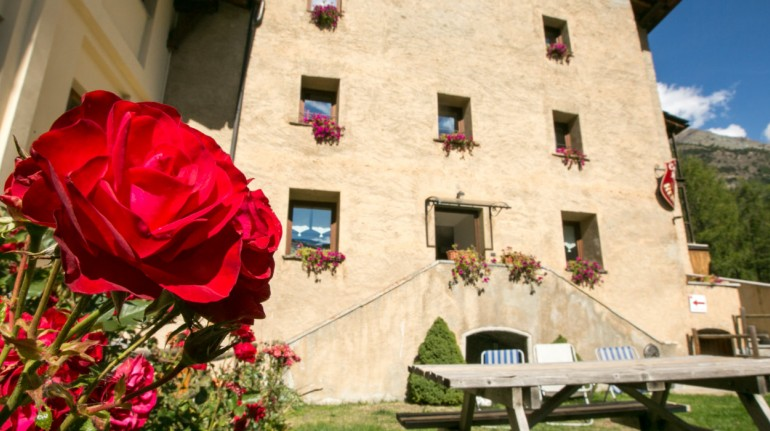 An ancient castle transformed into an eco-sustainable hotel