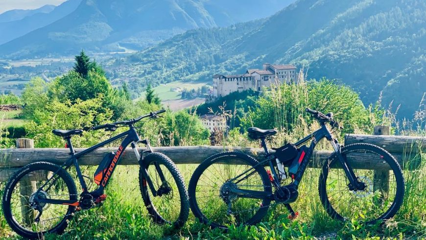 E-Bike in Adamello Brenta Natural Park
