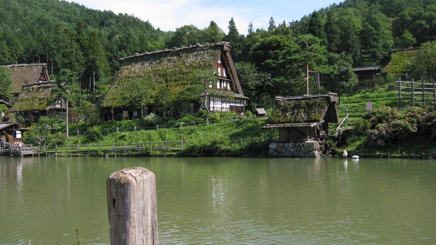 Hida Folk Village, Japan