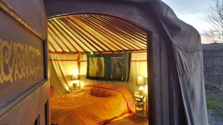 original green hotel yurta italy
