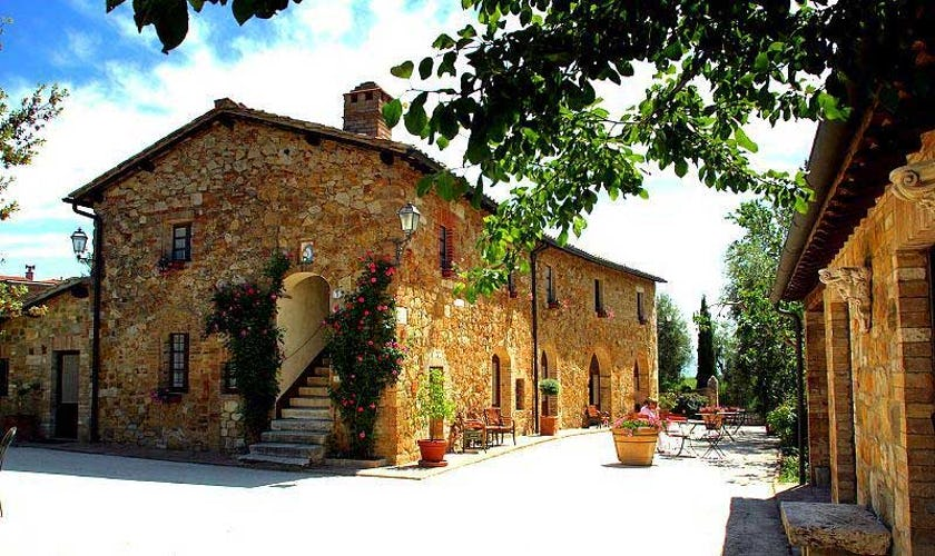 Sarna Residence San Quirico d'Orcia, eco-friendly hotel in Siena, Italy