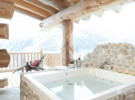 Your luxury chalet with fireplace