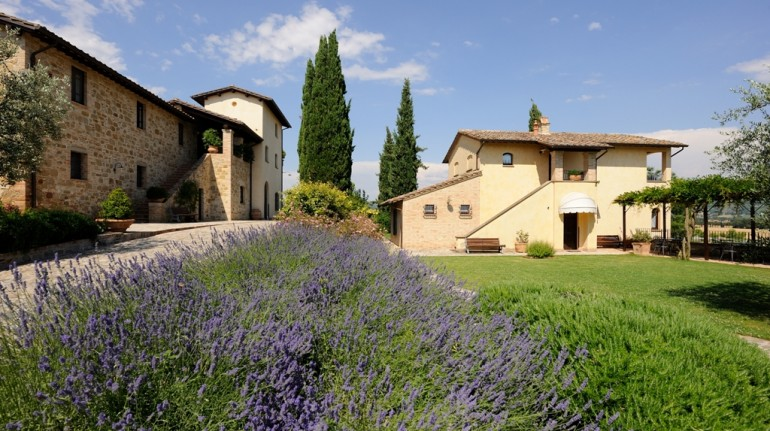eco-friendly accommodation in Umbria, Italy
