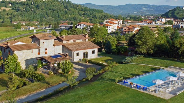 Eco-friendly farmhouse in Tuscany