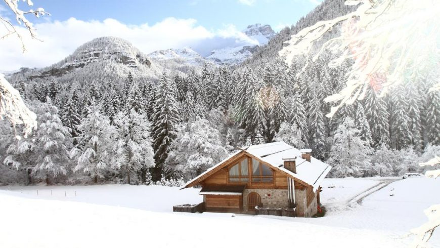 Eco-friendly house, Adamello Brenta Natural Park