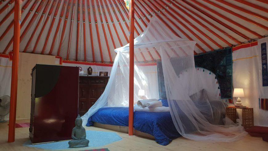 Yurt in italy