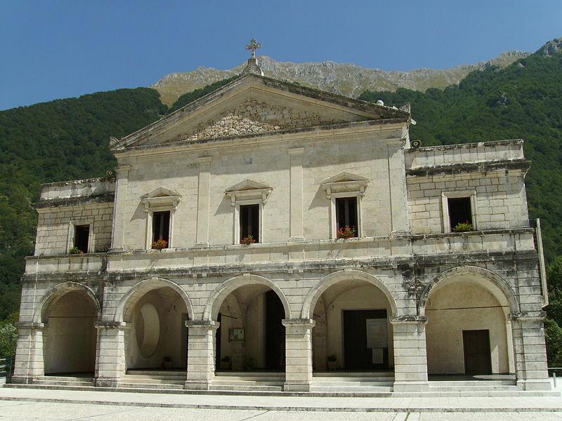 sanctuary Madonna del canneto