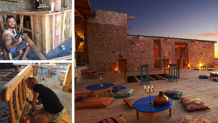 Local flavour and DIY at the Ecobnb L'Âne Vert in Morocco