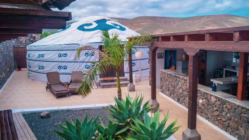 Yurta in Canary Islands