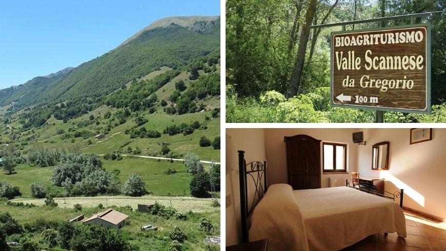 Valle Scannese da Gregorio, biofarm house in the national park of abruzzo lazio and molise
