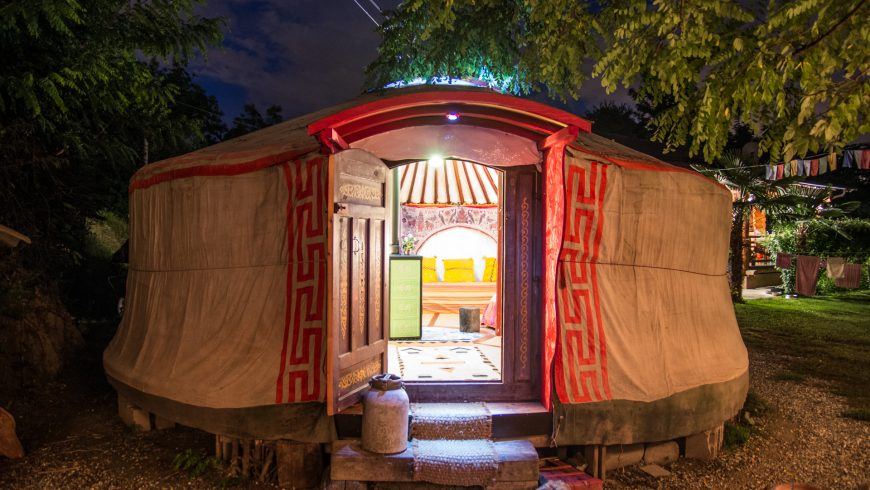 Italy Yurt