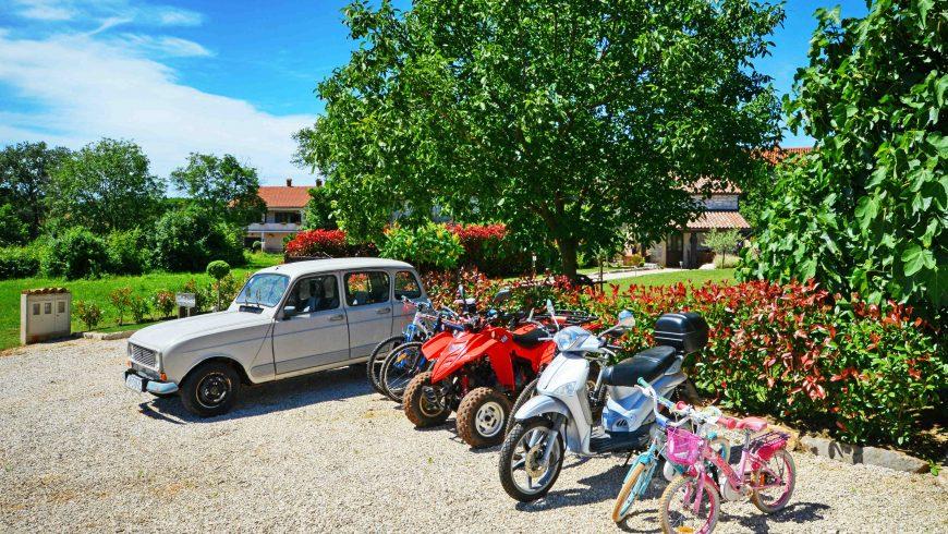 eco villa gašparini Istria - Renault 4