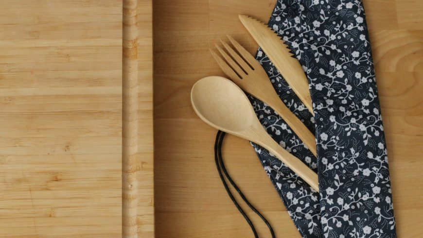 avoid single use and use reusable cutlery