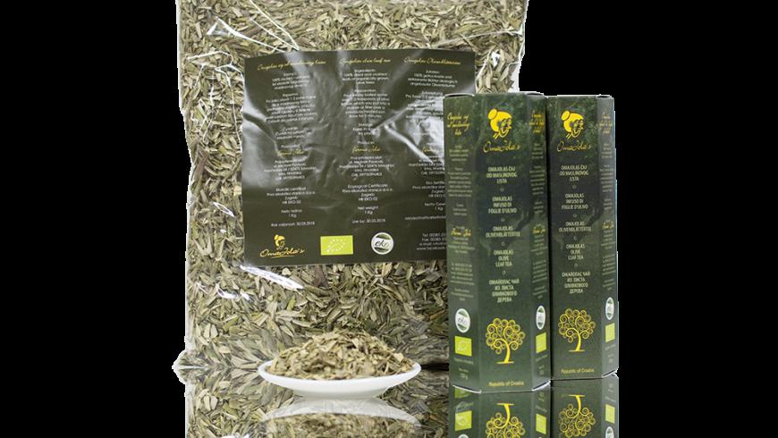 bio olive leaf tea