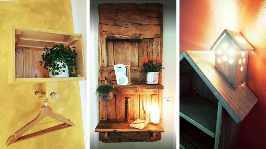 Upcycling at the Eco-BnB Botton d'Oro in Valle Imagna