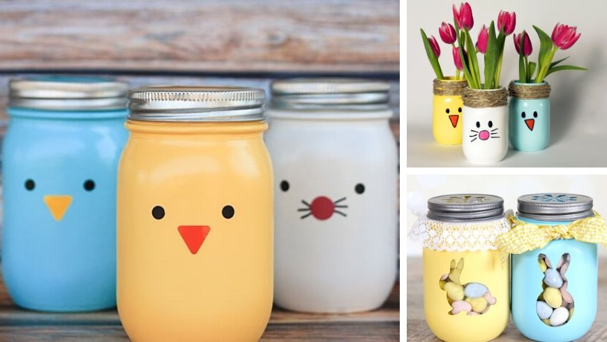 decorations out of mason jars