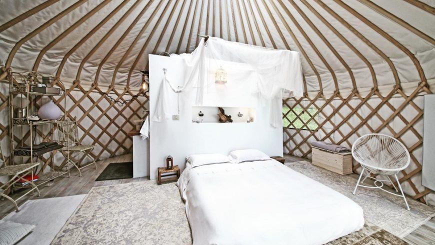 Yurt holiday