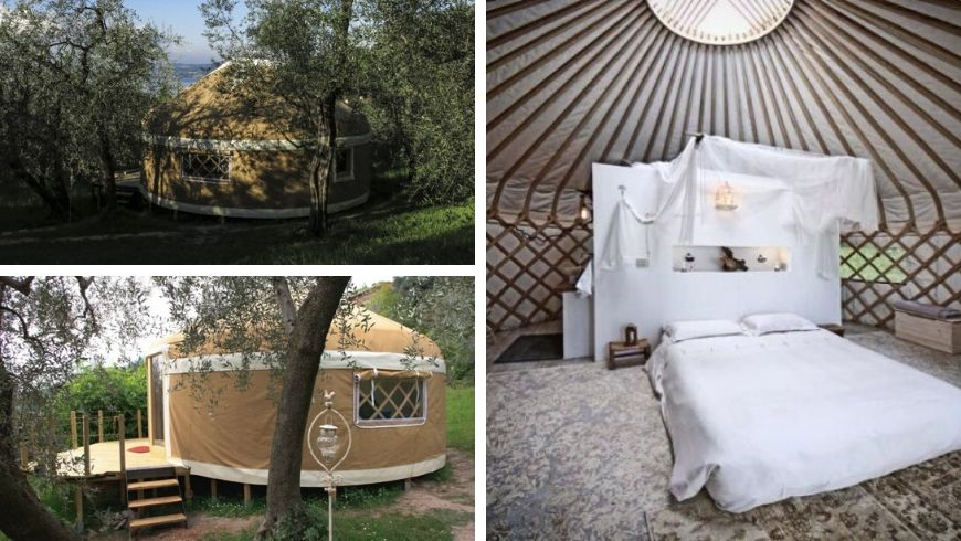 a yurt in italy ecostay ecobnb