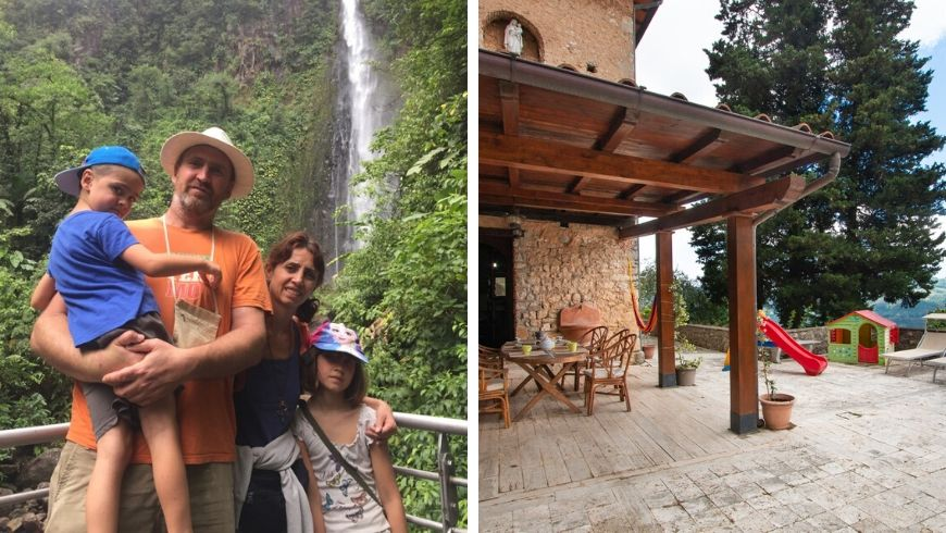 villa lola the owners on ecobnb
