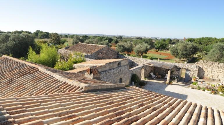 Masseria Uccio, in the nature of Puglia