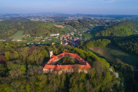 Slovenia: discover the Grad Castle at t Goričko Nature Park