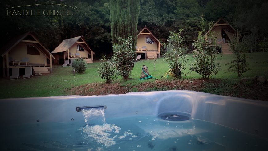 Pian delle Ginestre: an Eco-Glamping in Tuscany among Woods, Spas and Sea
