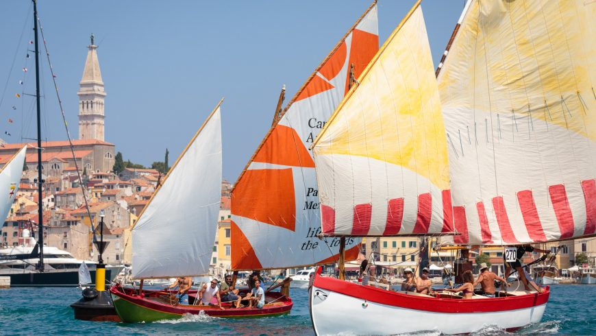 Rovinj's regatta