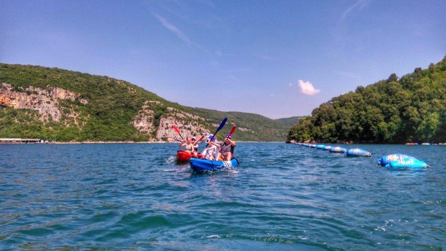Lim fjord kayaking