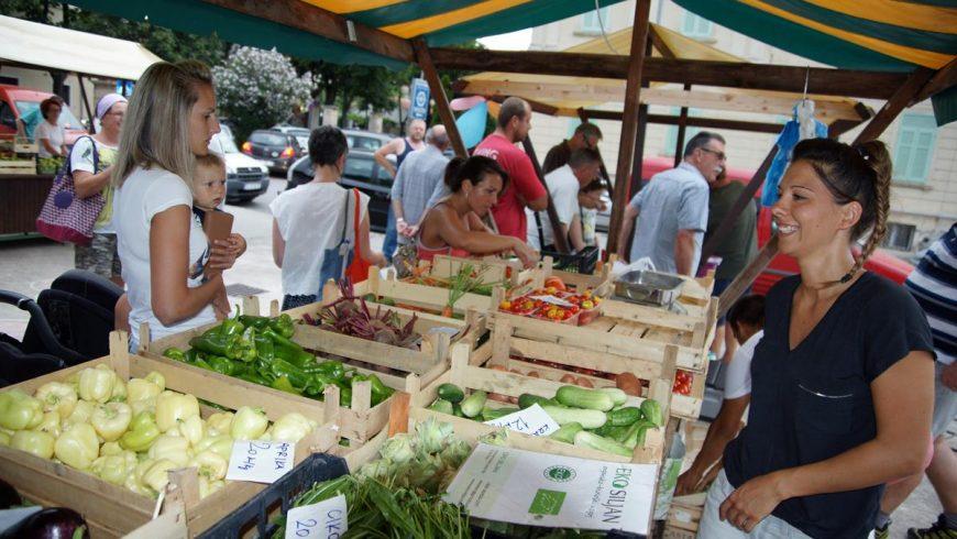 solidarity eco market Istria