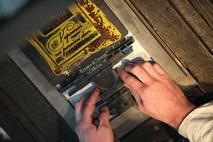 Gutenberg's printing machine