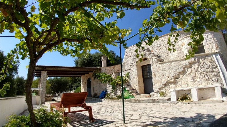 A farmhouse in Val d'Istria