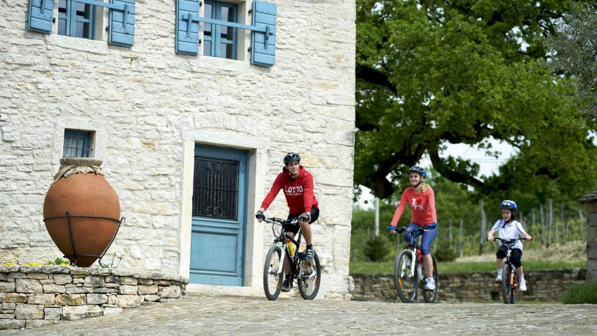 e-bike routes in Istria