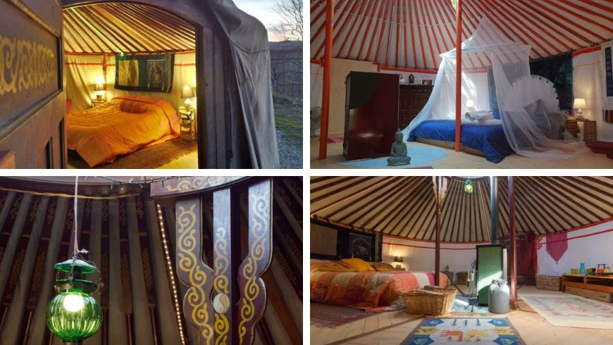 yoga holidays in italy in a yurt ecobnb