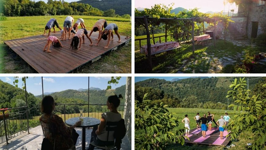 yoga holidays in italy ecobnb