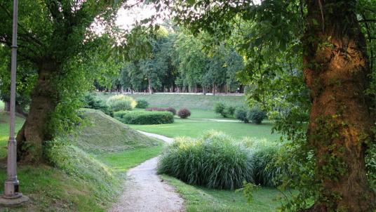 Karlovac, the city of parks