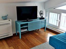 living room Carob Tree Apartments