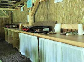 kitchen ECO River Camp