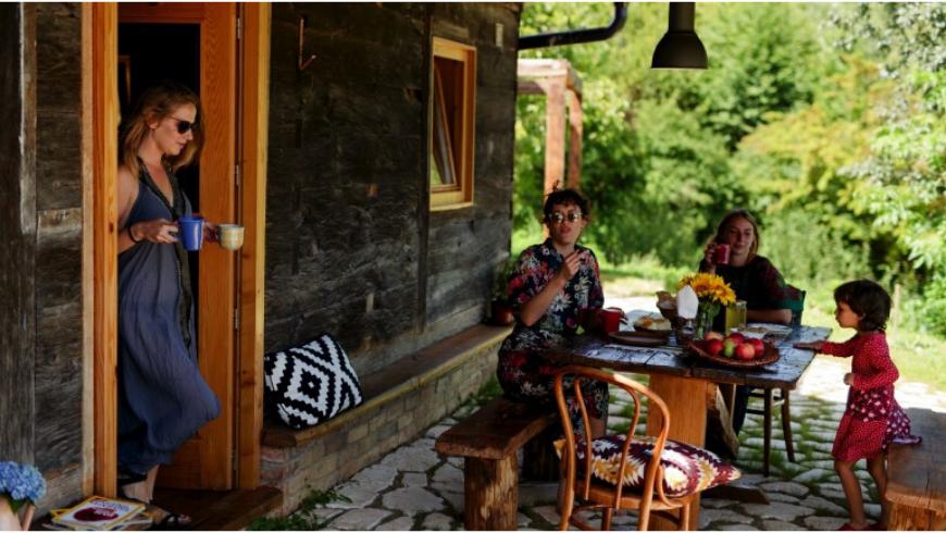 Eco-guests at the Ekodrom Estate in Croatia