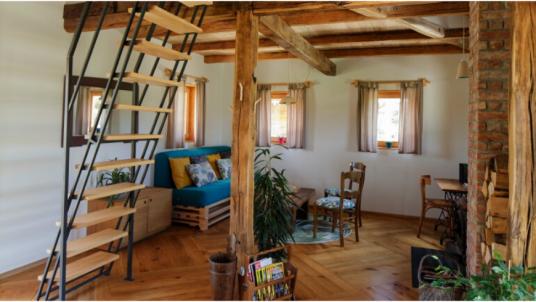 Ekodrom Estate: creative indoor design