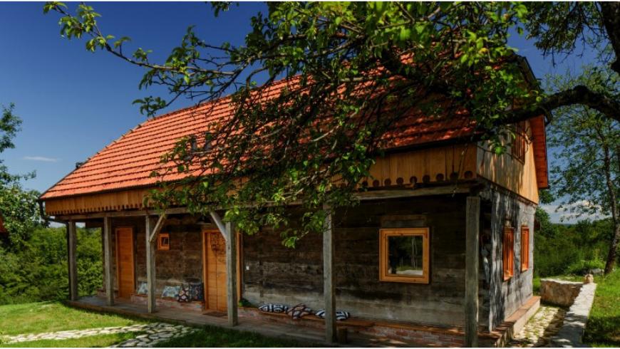 Mandala House at the Ekodrom Estate in continental Croatia