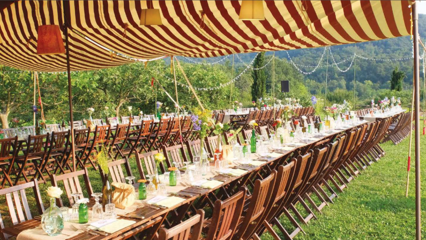 Green weddings and celebration