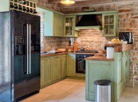 kitchen Luxury Villa Harpocrates