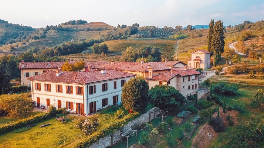 Panoramic view of the Oasi Galbusera Bianca